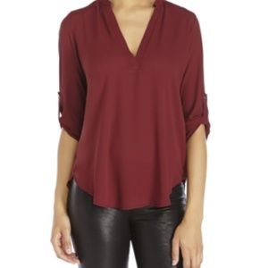 LUSH Perfect Roll Tab Sleeve Red